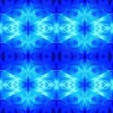 Abrégé sur bleu modèle géométrique Images libres de droits