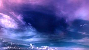 Abrégé sur ciel Images stock