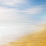Abrégé sur ciel de mer Photo libre de droits
