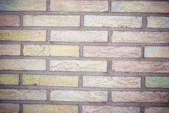 Abrégé sur coloré texture de mur de briques illustration de vecteur