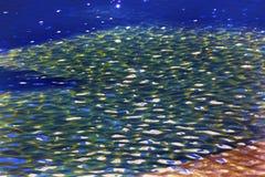 Abrégé sur commémoratif New York City NY piscine de World Trade Center Image libre de droits