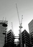 Abrégé sur construction de bâtiments Photographie stock