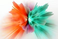 Abrégé sur couleur Images stock