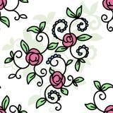 Abrégé sur courant illustration floral illustration libre de droits