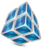 Abrégé sur cube   Photo libre de droits