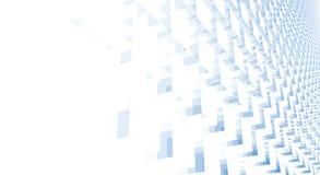 Abrégé sur cubes illustration libre de droits