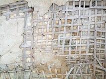 Abrégé sur délabrement de mur Photo libre de droits