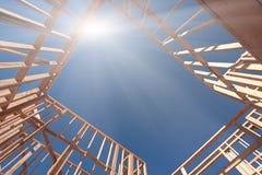 Abrégé sur de encadrement construction Photo libre de droits