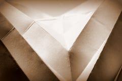 Abrégé sur de papier forme photos stock