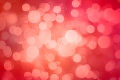 Abrégé sur doux amour de bokeh rose de tache floue Photos libres de droits