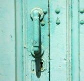 Abrégé sur en laiton de Lanzarote de canarias de l'Espagne Images libres de droits