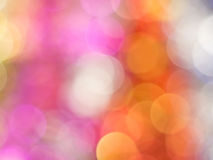 Abrégé sur en pastel doux bokeh Photos stock
