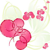 Abrégé sur fleur Photo libre de droits