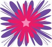 Abrégé sur fleur illustration stock
