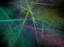 Abrégé sur fractale Photographie stock