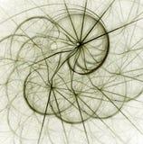 Abrégé sur fractale Image stock