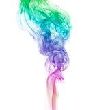 Abrégé sur fumée d'arc-en-ciel Photographie stock libre de droits