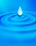 Abrégé sur gouttelette d'eau Images libres de droits