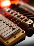 Abrégé sur guitare électrique Image libre de droits