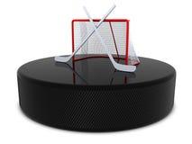 Abrégé sur hockey Photographie stock libre de droits