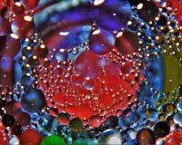 Abrégé sur huile Image stock