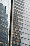 Abrégé sur immeuble de bureaux de New York Images stock