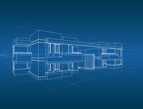 abrégé sur l'architecture 3D Photographie stock