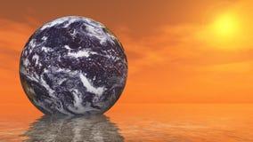 Abrégé sur la terre Image libre de droits