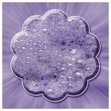 Abrégé sur lilas fleur de bulle Image libre de droits