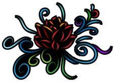 Abrégé sur Lotus illustration stock