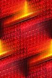 Abrégé sur lumineux lumière d'arrière Image stock