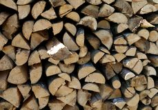 Abrégé sur matériel en bois construction de fond Photos stock