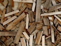 Abrégé sur matériel en bois construction de fond Photo libre de droits