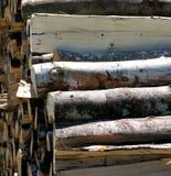 Abrégé sur matériel en bois construction de fond Image libre de droits
