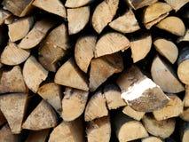 Abrégé sur matériel en bois construction de fond Images libres de droits