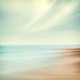 Abrégé sur mer et ciel Image stock