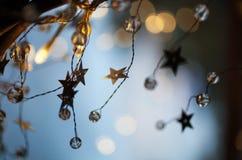 Abrégé sur Noël photographie stock libre de droits