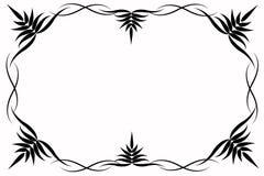 Abrégé sur noir portée illustration de vecteur