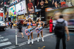 Abrégé sur nu cow-girls Photos libres de droits
