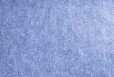 Abrégé sur papier bleu Photos stock