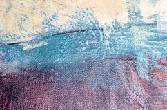 Abrégé sur peinture à l'huile Image libre de droits