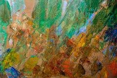 Abrégé sur peintures à l'huile photos libres de droits