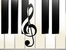 Abrégé sur piano images stock