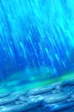 Abrégé sur pluie Images stock