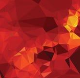 Abrégé sur rouge combat de texture de fond de la géométrie moderne de triangle Photographie stock