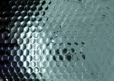 Abrégé sur rouge texture de bubblewrap Images stock