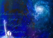 Abrégé sur spirituel passion illustration de vecteur