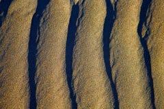 Abrégé sur texture de l'Espagne d'un sable sec Photographie stock