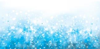 Abrégé sur vecteur, bleu, fond d'étincelle illustration de vecteur