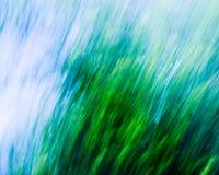 Abrégé sur vert/bleu #5 mélange Photos stock